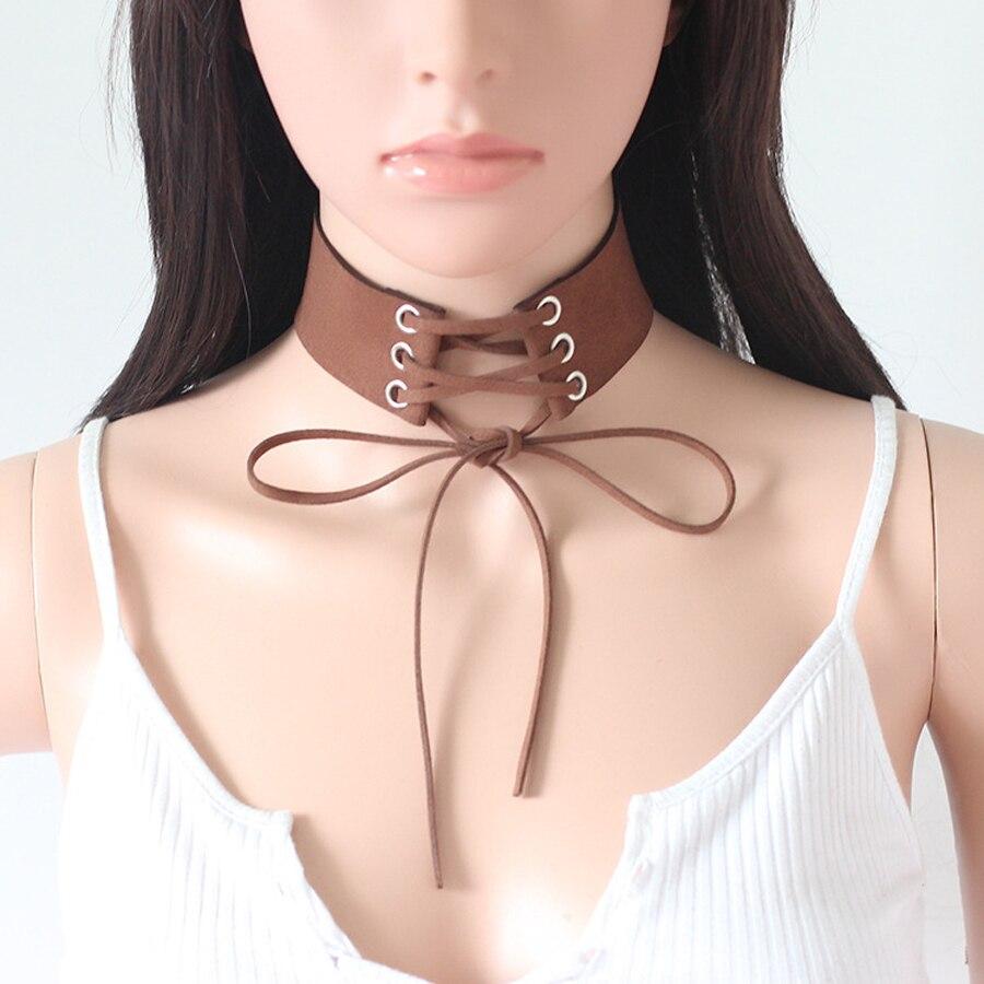 collier ras de cou large