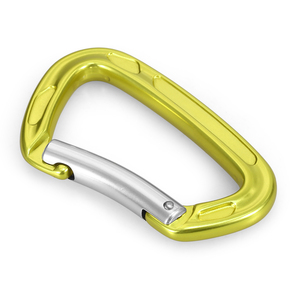 Image 5 - 22KN / 24KN Straight Gate Carabiner Non locking Gate Carabiner Climbing Canyoning Backpacking Hammocks Key Nose Carabiner