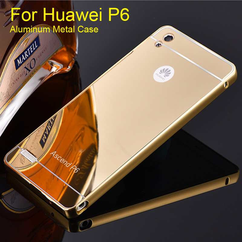 Phone Case for Huawei P6 Electric Aluminum Metal Frame ...