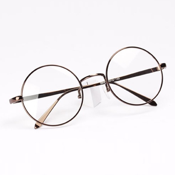 25c86217b Unisex Women Men Design Retro Metal Frame Round Glasses Clear Lens Nerd  Eyewear 6 Colors L4-in Sunglasses from Apparel Accessories on  Aliexpress.com ...