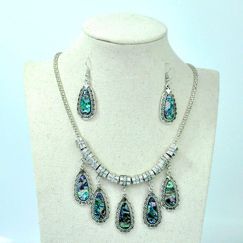 1 Set Abalone Shell Jewelry...