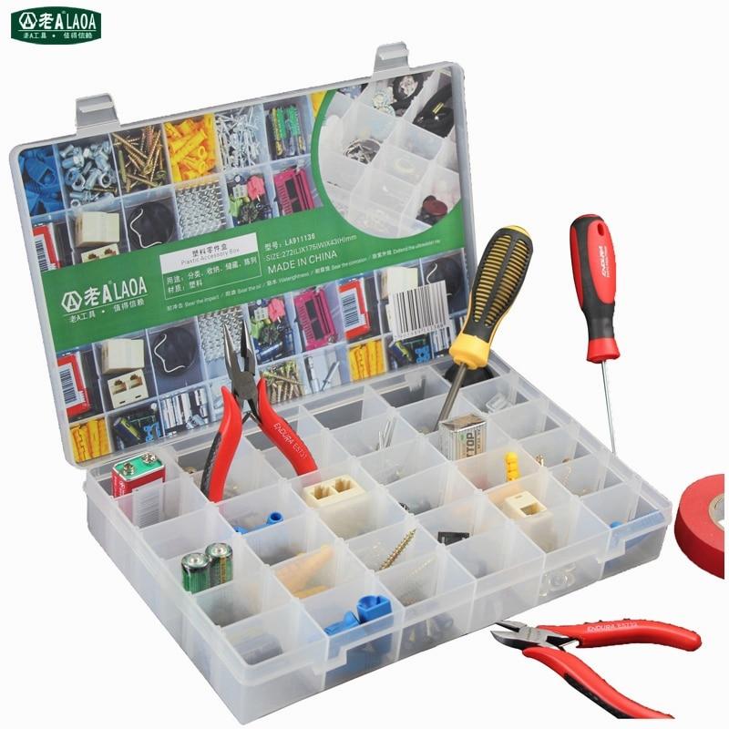 Hot Sale New Practical Adjustable Plastic 36 Compartment