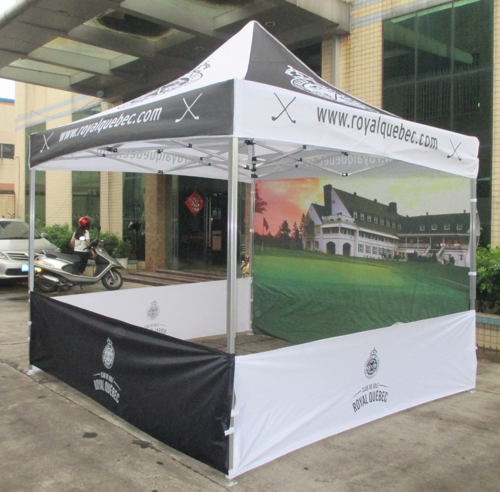 Logo Printed 3m X Aluminum Instant Shade Folding Sun Shelter Gazebo Tent Pop Up Party Marquee In From Sports Entertainment