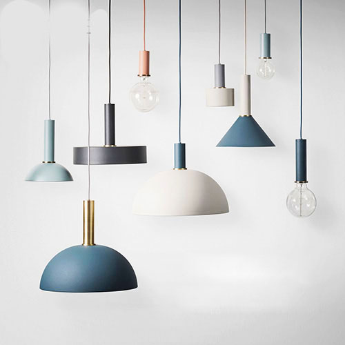 American Country Creative Wood iron Pendant light Lamp ...