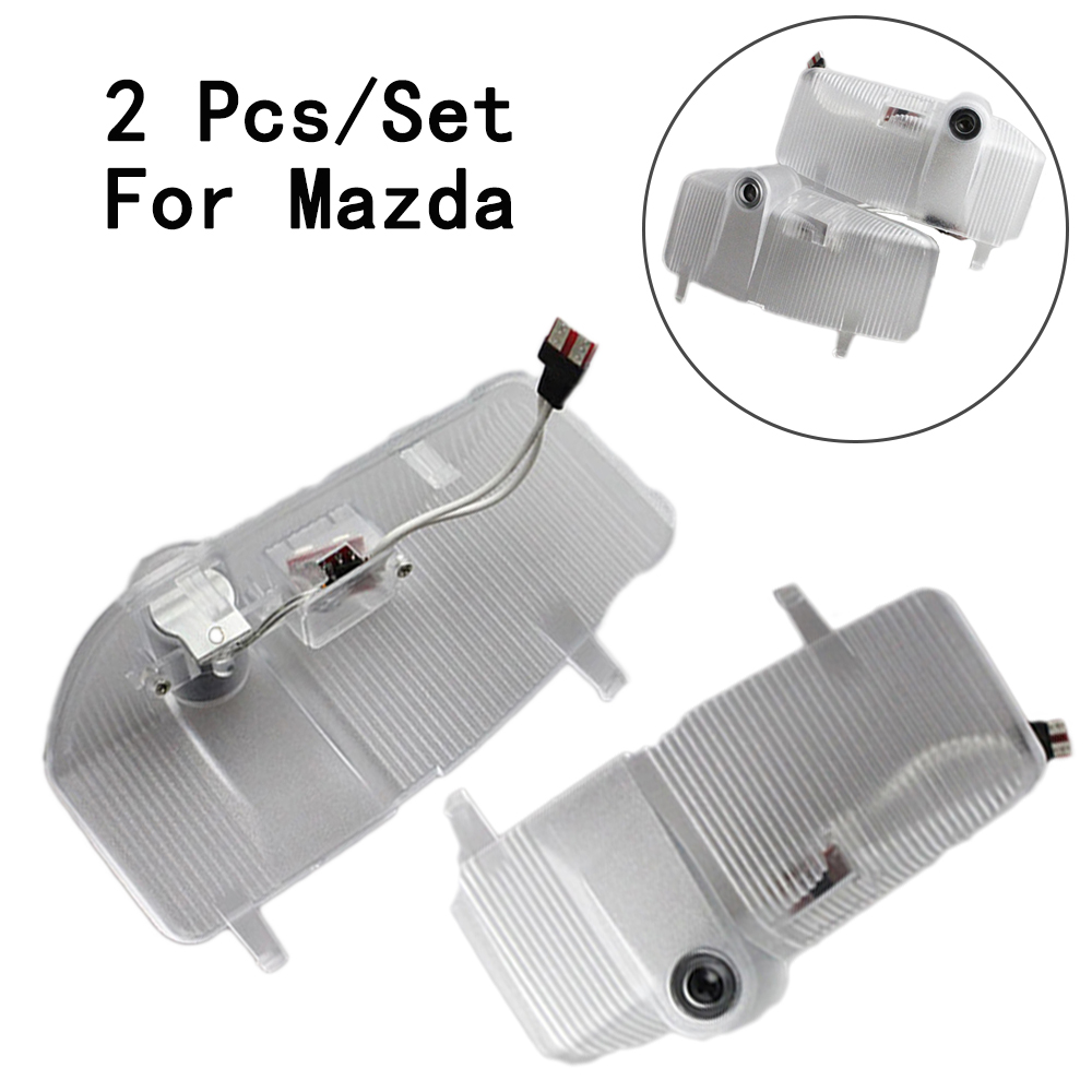 LED Courtesy Step Door Courtesy Laser 12V With Logo Only For Mazda 6 7W Lens Include 2Pcs/Set Ghost Shadow Projetor