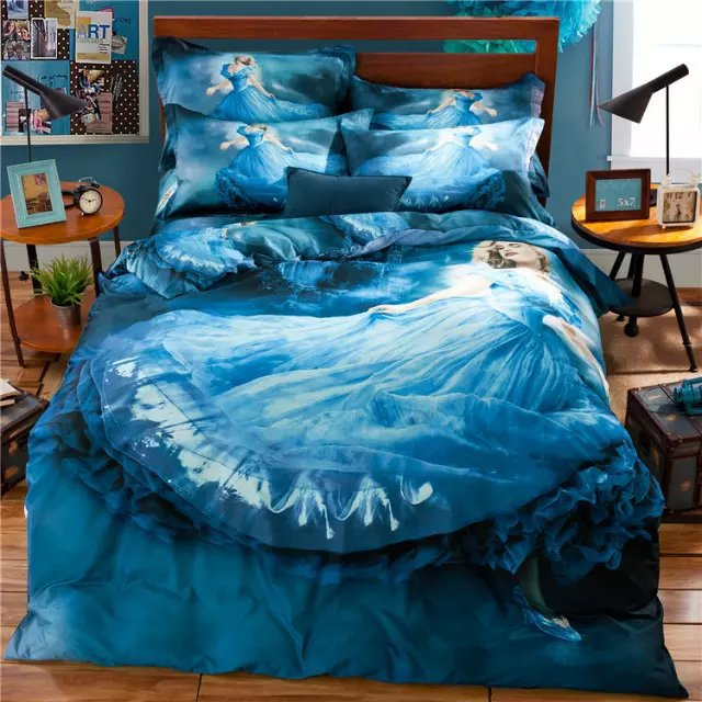bed sheets for teenage girls. Queen Size Comforter Sets For Teenagers. 3d Fairy Princess Blue Bedding Set  Teens Girls Bed Sheets Teenage