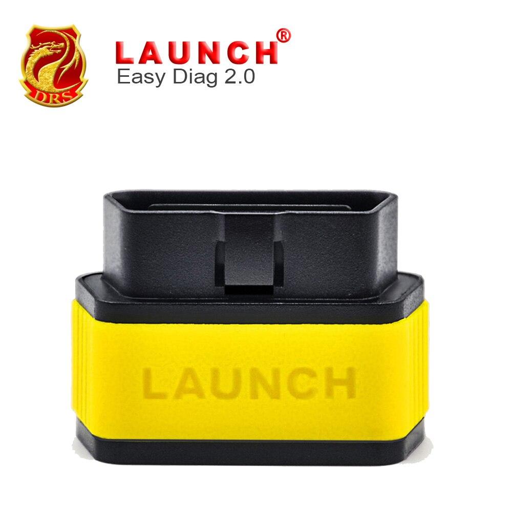 Prix pour 100% D'origine Lancement X431 Easydiag 2.0 Version Lancement Facile Diag Pour Android et IOS OBDII Outils De Diagnostic Mieux Que Idiag ELM327