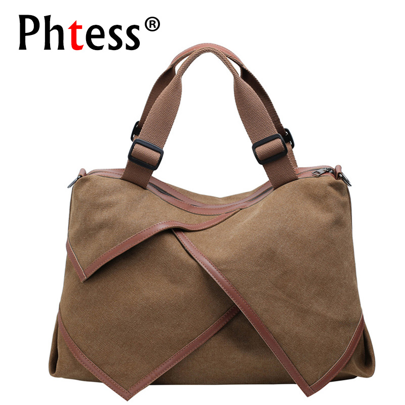 2018 Ladies Canvas Hand Bags High Quality Designer Women Handbags Solid Hobos Tote Bag Large Bolsas Femininas Shoulder Bag Sac japanese pouch small hand carry green canvas heat preservation lunch box bag for men and women shopping mama bag