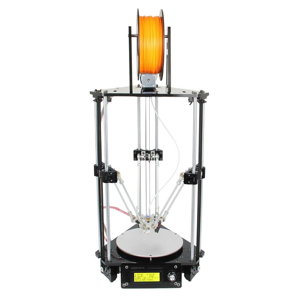 2016 Auto-leveling And Auto-calibration 3D Printer DIY KIT Delta Rostock Mini G2 Pro G2 Wholesale 5KG PLA 1.75mm 3D Filament