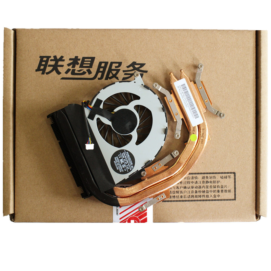 New CPU Cooling Heatsink Fan For Lenovo Y460P CPU Heatsink Cooling Fan Cooler computer cooler radiator with heatsink heatpipe cooling fan for hd6970 hd6950 grahics card vga cooler