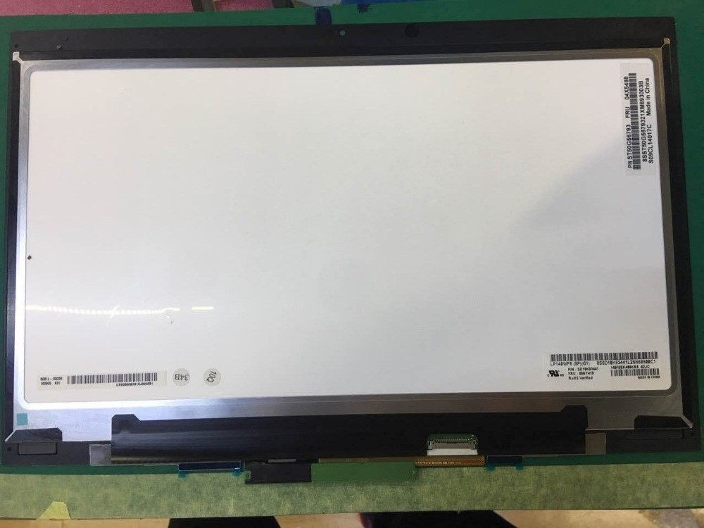 14.0 LCD Touch Screen For Lenovo Thinkpad X1 Yoga LCD Screen+Touch Digitizer Assembly B140HAN01.8 FHD 1920*1080 Display 14 inch lcd display touch screen for lenovo thinkpad x1 carbon lcd screen touch digitizer assembly lp140qh1 sp a2 display lcd