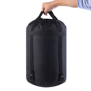 Image 5 - 圧縮睡眠スタッフサック軽量折りたたみアウトドアキャンプハイキング高品質収納パッケージ睡眠袋アクセサリー
