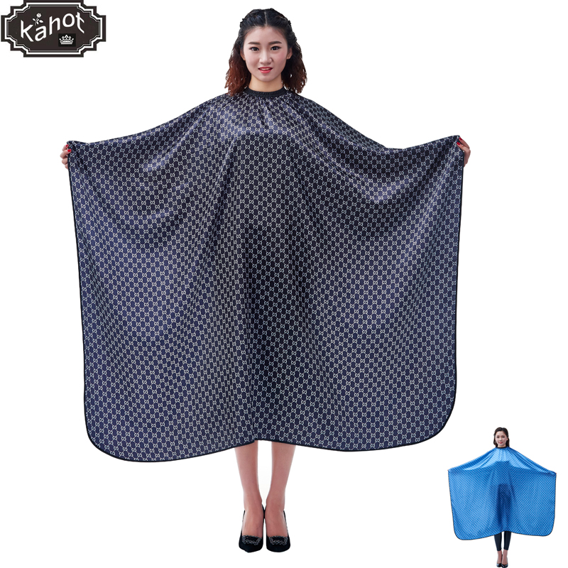 1pcs Professional Hairdressing Apron Hair Cutting Satin Large Cape Barber Styling Salon Camps Hairdresser Wrap