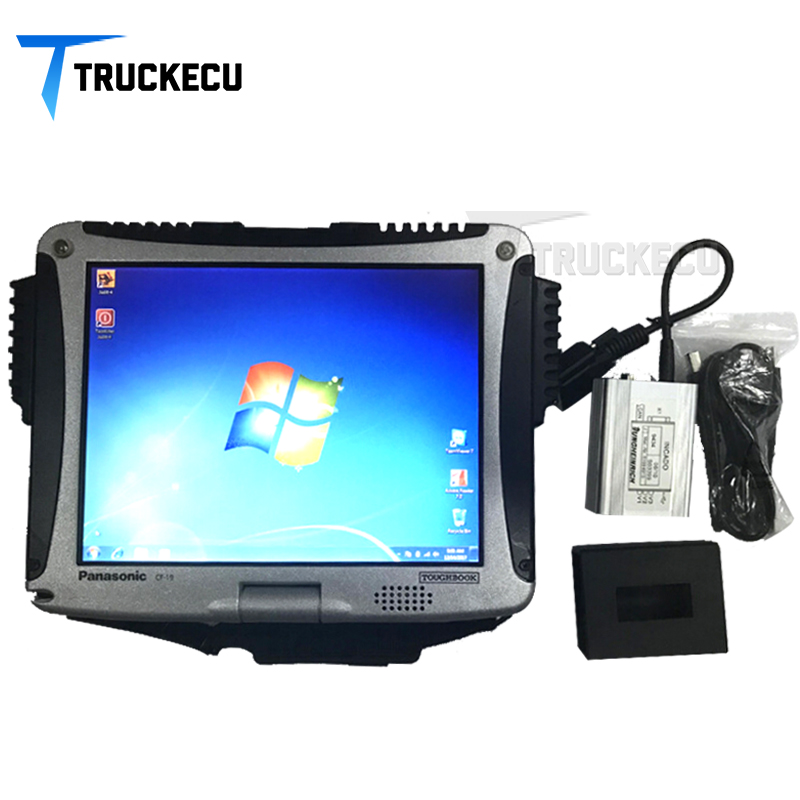 Kit de diagnostic de boîte de Judit Incado de scanner de Diagnostic de chariot élévateur Jungheinrich JUDIT 4 scanner de chariot élévateur avec l'ensemble complet d'ordinateur portable CF19