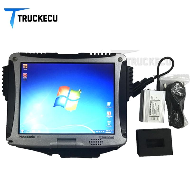 Escáner de diagnóstico de montacargas Kit de diagnóstico de caja de ajuste Jungheinrich Judit 4 escáner de montacargas con conjunto completo de ordenador portátil CF19