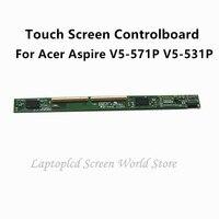 FTDLCD naprawa ekran dotykowy Controlboard zielony Digitizer pokładzie dla Acer Aspire V5 571P V5 531P w Ekrany LCD do laptopów od Komputer i biuro na