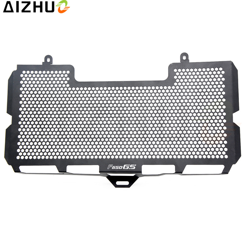 For BMW F650GS 2008 2009 2010 2011 2012 Motorcycle Accessories Radiator Grille Guard Cover Stainless Steel Radiator Protection aluminum alloy radiator for ktm 250 sxf sx f 2007 2012 2008 2009 2010 2011