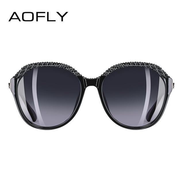 AOFLY BRAND DESIGN Polarized Sunglasses Women Gradient Sun Glasses For Women 2018 Fashion Glasses UV400 A133 2