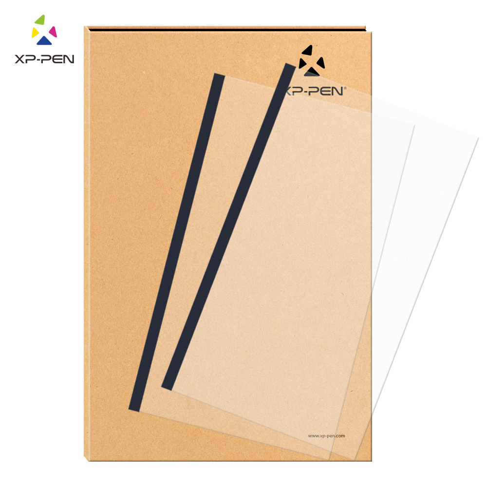 XP-Pen Transparent Graphic Tablet Protective Film just for Star03 Graphics Drawing Tablet (2 pieces)