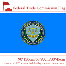 Free shipping The Federal Trade Commission Flag 60*90cm 90*150cm 30*45cm Car 3x5ft High-quality Banners