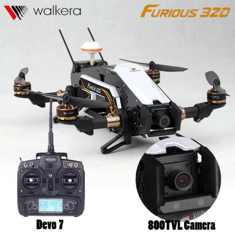 Professional font b rc b font drones Walkera Furious 320 With HD Camera Devo10 FPV Transmitter