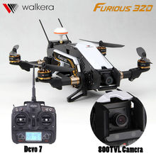 Profesional rc zánganos Walkera fast and Furious 320 con cámara HD Devo10 transmisor FPV Quadcopter OSD GPS vs Runner 250 QAV250 Freex