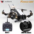 Walkera rc drones Furioso 320 Con HD Cámara profesional Devo10 Transmisor FPV OSD GPS vs Corredor 250 QAV250 Quadcopter Freex