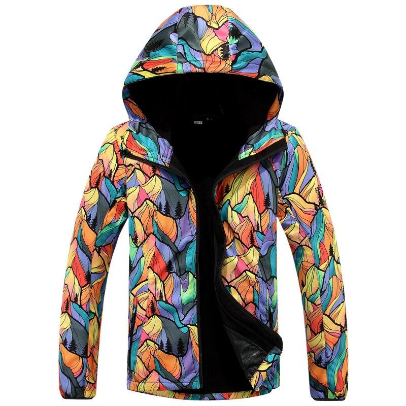 Prix pour Femmes polaire manteau mince ski veste feuille d'érable soft shell survêtement fleur cardigan printemps automne snowboard randonnée veste