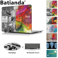 Batianda Crystal Laptop Case Cover For Apple MacBook Air Pro Retina 11 12 13 15 For
