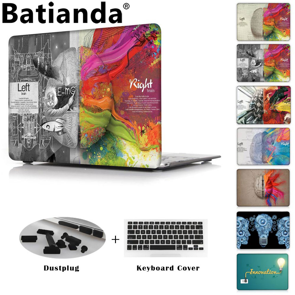 цена на Batianda Crystal Laptop Case Cover For Apple MacBook Air Pro Retina 11 12 13 15 for New Pro 13 15 inch with Touch Bar 2016 &2017