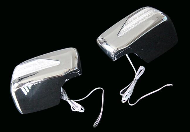 Pour Honda 15 CITY LED avec lumière rétroviseur garniture rétroviseur anti-friction protection décorative