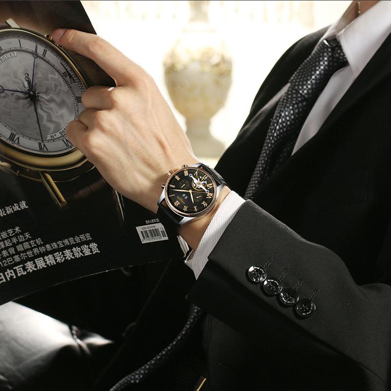 HTB1WCrcPXXXXXXEaXXXq6xXFXXXd - KINYUED Skeleton Watch for Men
