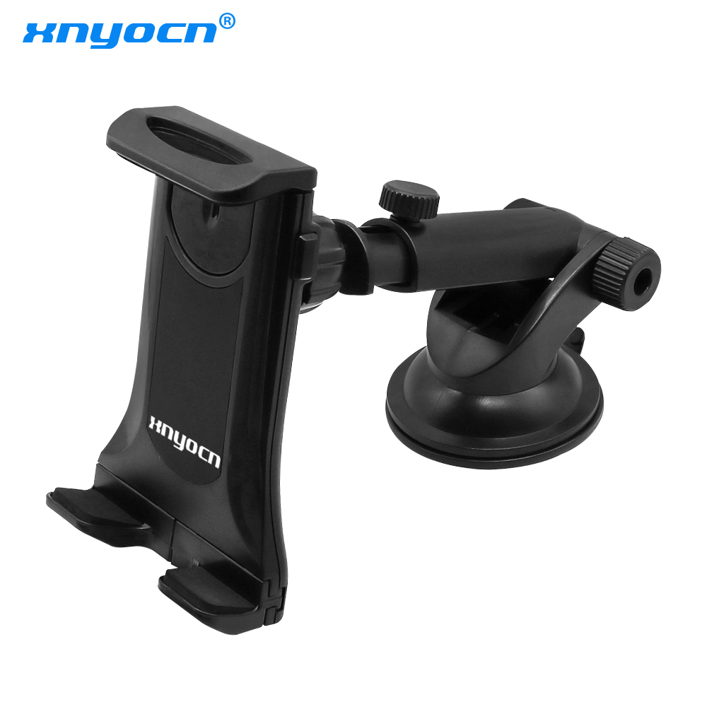 Suction Cup Style Tablet PC Stand Bracket Clip for 4~12 inch Screen Universal Bracket Clip Car Holder with 360 degree turning