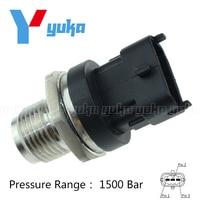 Diesel Common Rail Fuel Pressure Sensor Regulator 0281002908 0281002734 55190763 55195077 For Hyundai KIA Alfa Romeo