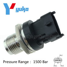 Diesel Common Rail Fuel Pressure Sensor Regulator 0281002908 0281002734 55190763 55195077 For Hyundai KIA Alfa Romeo
