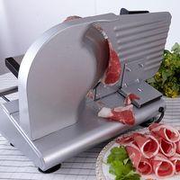 ماكينة تقطيع لحوم كهربائية بقدرة 200 وات قطاعة لحم الضأن المجمدة المنزلية لتقطيع اللحم البقري