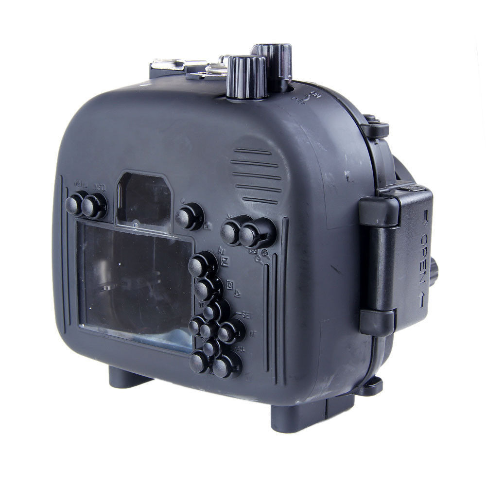 Waterproof Underwater Housing Camera Housing Case for canon 550D T2i Lens Meikon waterproof underwater housing camera housing case for canon 600d 18 55mm lens meikon