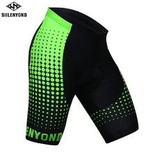 Cycling Shorts Tigers Padded Bike Quick-Dry Racing Siilenyond Pro Summer MTB Men