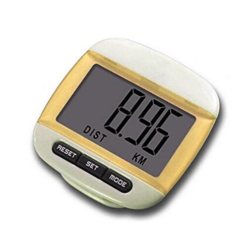 SZ-LGFM-New Multi-function Pedometer Distance Calorie Counter Yellow