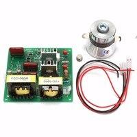 Ac 110V 100W 40K Ultrasone Reiniger Power Driver Board + 1Pcs 60W 40K Transducer voor Ultrasone Reiniging Machines