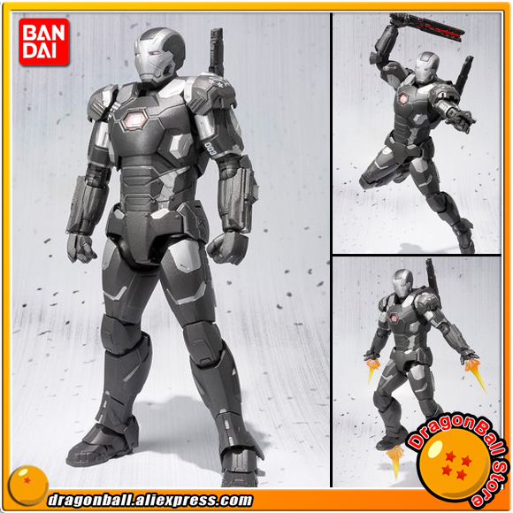Captain America: Civil War Original BANDAI Tamashii Nations S.H.Figuarts / SHF Exclusive Action Figure - War Machine Mark 3 civil war battleship the monitor level 4