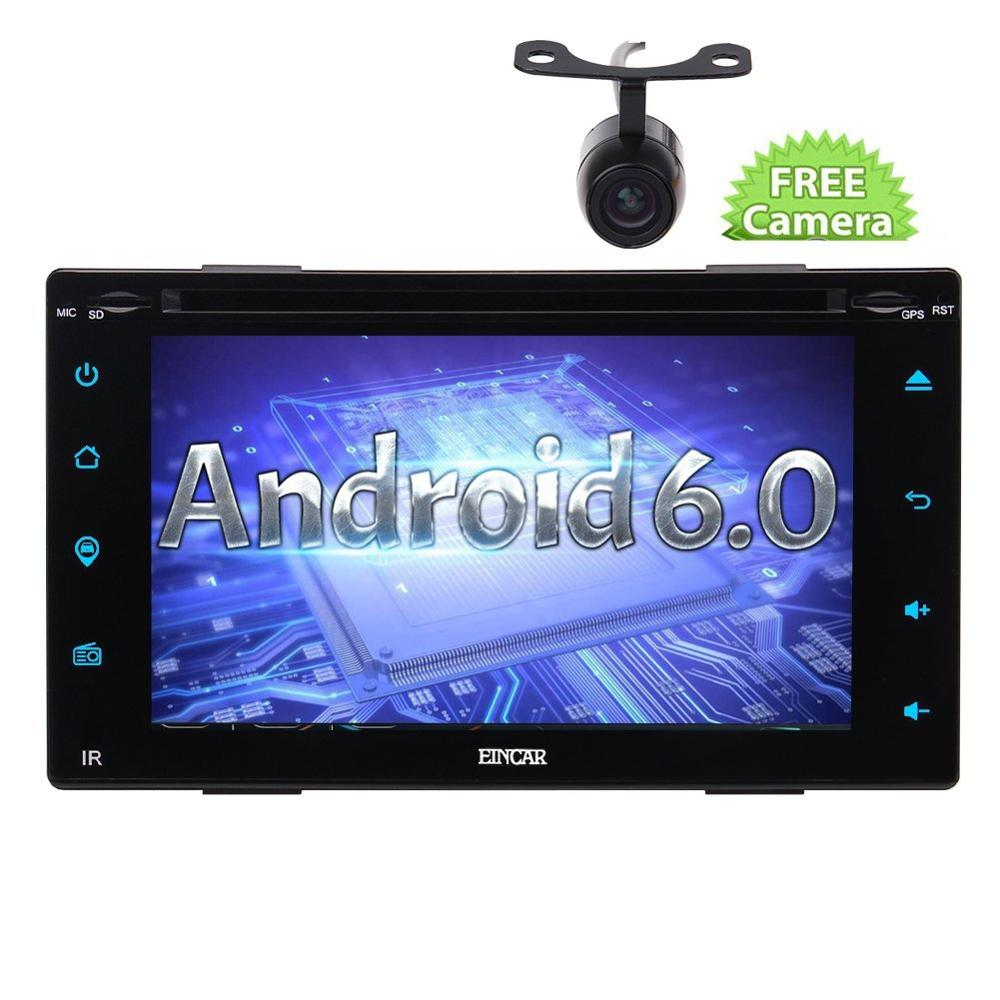 new android 6 0 car stereo audio radio touch screen quad. Black Bedroom Furniture Sets. Home Design Ideas
