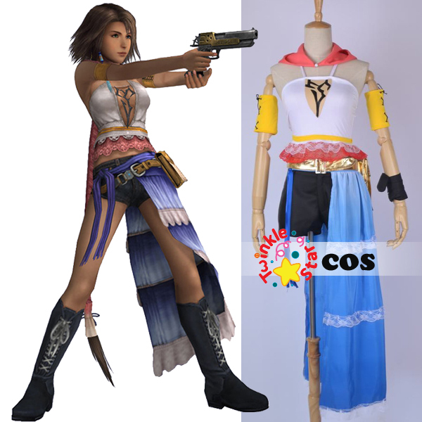 halloween costumes for adult women yuna final fantasy x yuna cosplay costume fancy costumes in game costumes from novelty special use on aliexpresscom