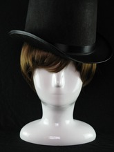 Abstract White Bright Female Mannequin heads,Plus Size Male Manikin Head,Wig Head