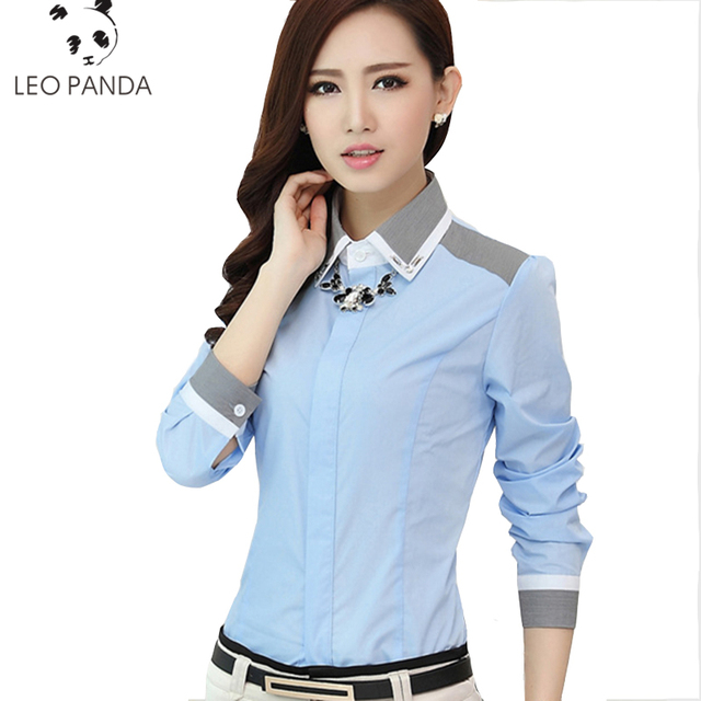 08678d5e98c Casual Blouse Shirt Long Sleeve Blusas Femininas Roupas Woman Clothes Body  Ladies Work Wear Female Office