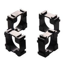 100 adet 18650 silindirik pil tutucu parantez güvenlik anti titreşim tutucu silindirik braketi