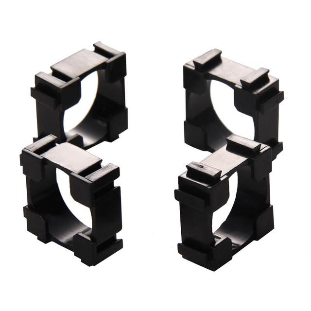 100 pieces 18650 Cylindrical Battery Holder Brackets Safety Anti vibration holder Cylindrical bracket