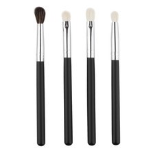 Professional 4Pcs Makeup Brush Sets Tools Cosmetic Brush Foundation Eyeshadow Brush Make Up Tool Black Color,free shipping