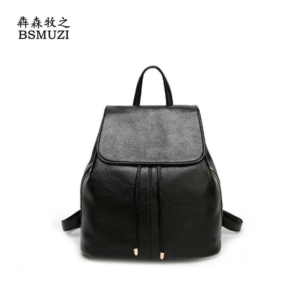 ФОТО 2016 New Fashion Women Backpack Female PU Leather Women's Backpacks Backpack Bags Travel Bag back pack Free Shipping