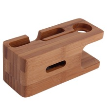 Wood Charging Dock Stand For Gadgets